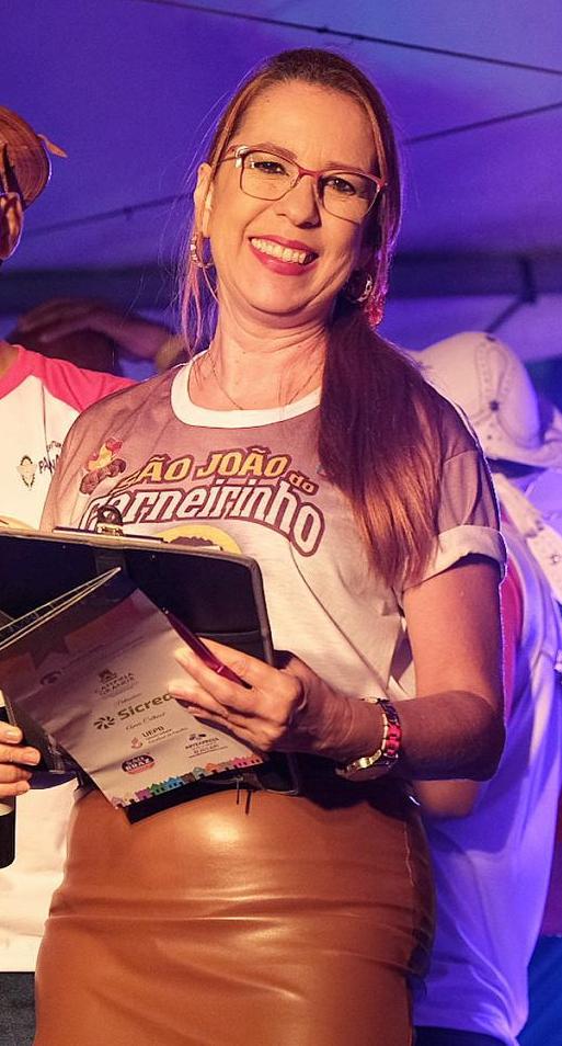 Foto Perfil Giseli Maria Sampaio de Araújo
